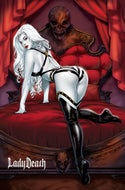 Lady Death Cataclysmic Majesty #1