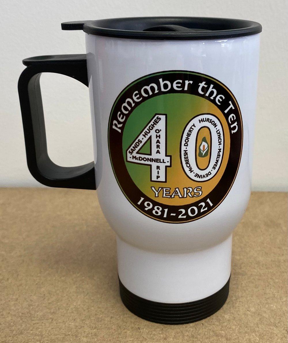 Hunger Strikers 40th anniversary Travel Mug