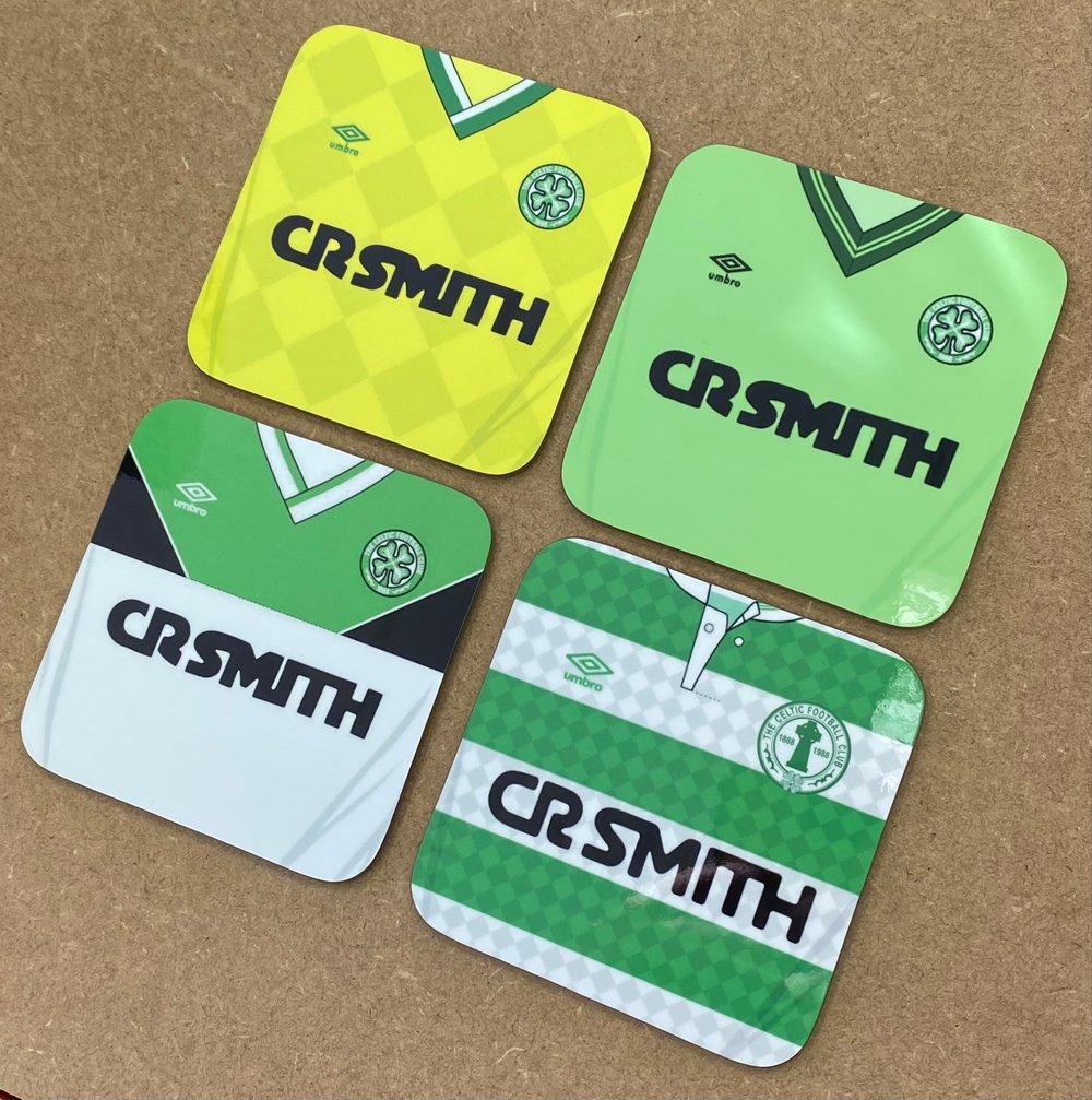 CR Smith Retro Coasters 4 pack