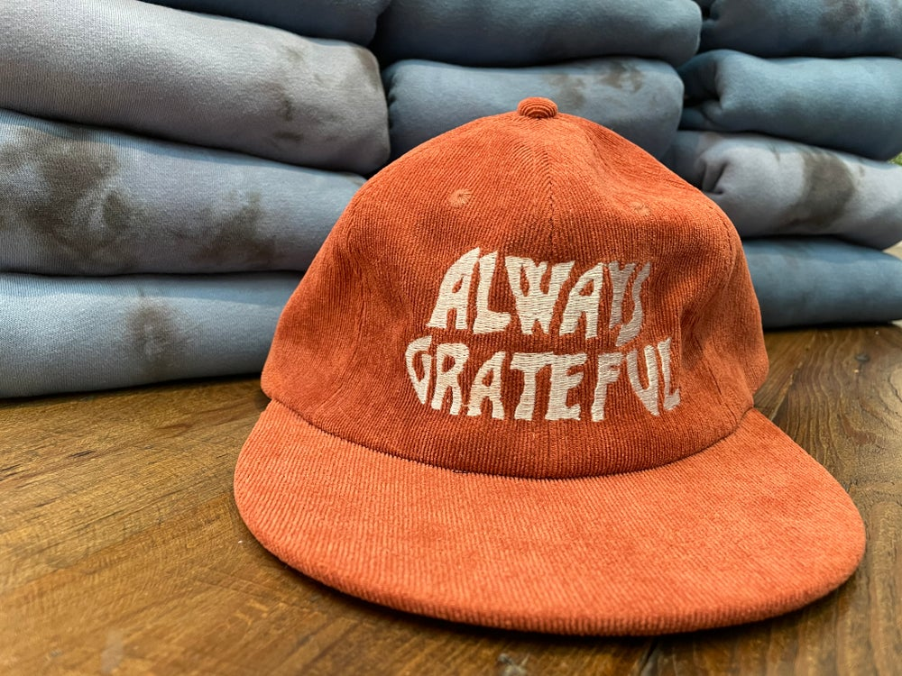 Always Grateful Corduroy Hat - Apricot