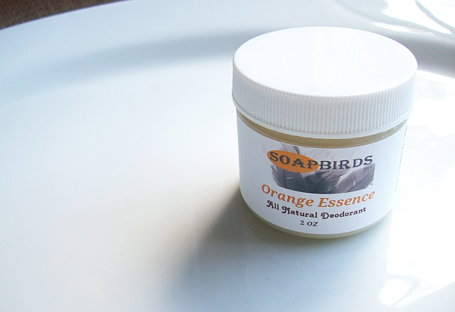 Image of All Natural Deodorant Cream-2 oz Size-Effective Odor Absorbing Formula-Natural Scents or Scent Free!