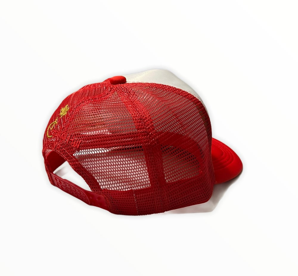 Image of Capital Hill Red Trucker Mesh Hat