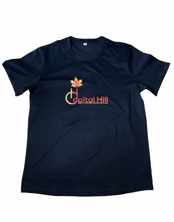 Image of Capital Hill Black original logo T-Shirt