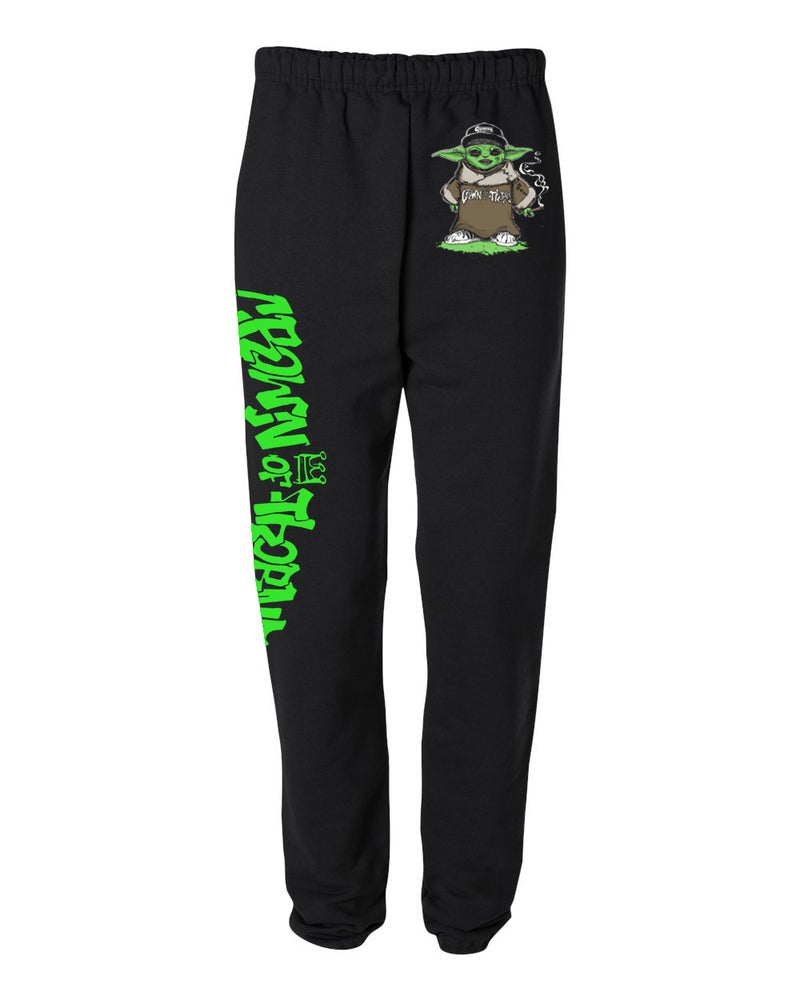 Image of CROWN OF THORNZ QUEENZ BABY SWEAT PANTS (IN STOCK)