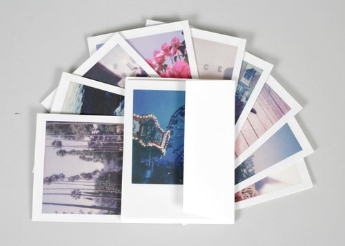 Image of Polaroid cards 10 pack by DAG Polaroids (note cards for any occasion, blanks inside)