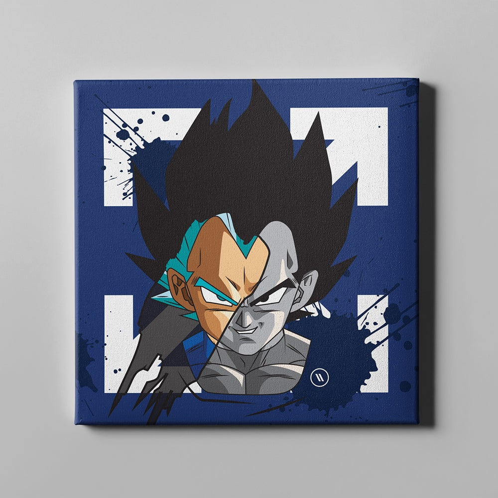 Image of Vegeta - Dark Side