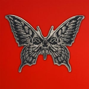 Image of SKULL BUTTERFLY PIN