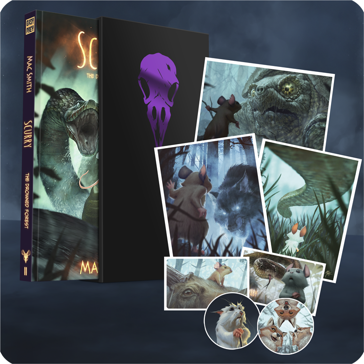 Image of Scurry Book 2: The Drowned Forest PREMIUM HARDCOVER EDITION