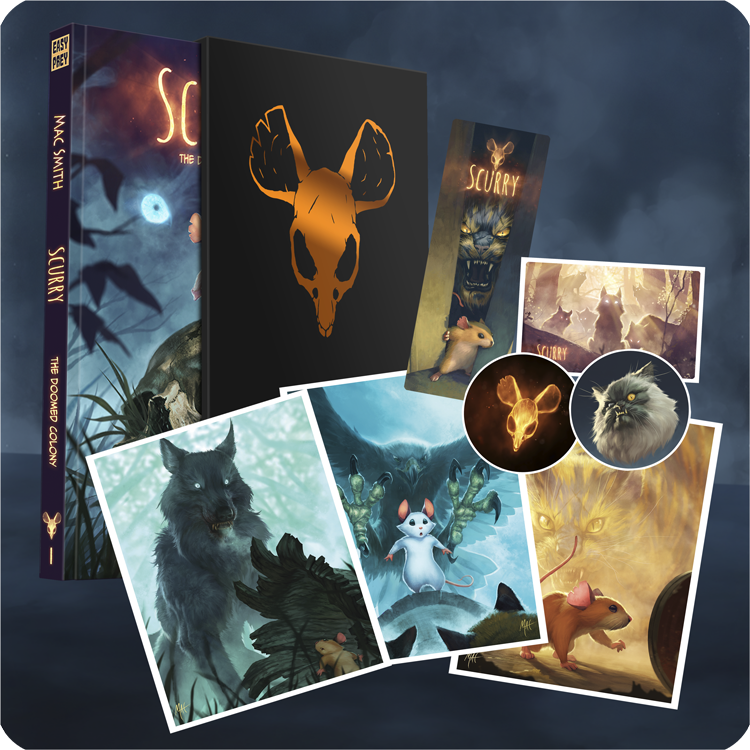 Image of <s>Scurry Book 1: The Doomed Colony PREMIUM EDITION</s> (SOLD OUT)