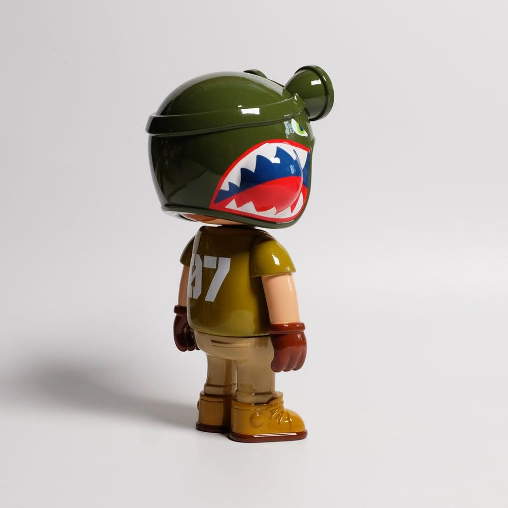 Image of owangeboy statue - army boyz