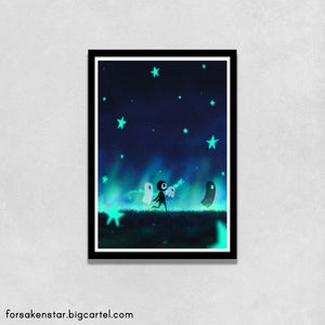 Image of Land of stars - A4 (21 x 29,7 cm)