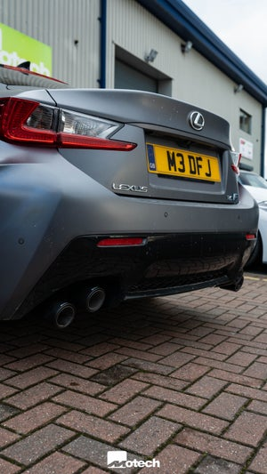 Image of Lexus RC F RC F Carbon Sport Exhaust (2015 +)