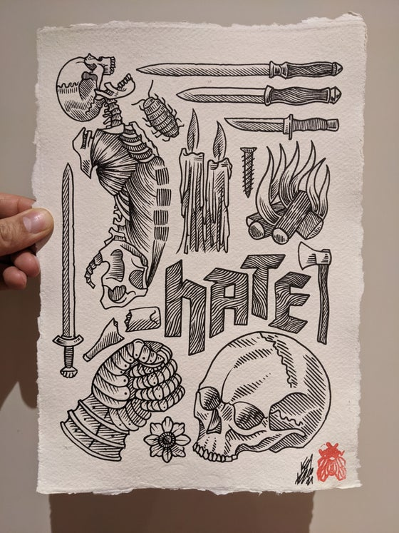 Image of Hate - original