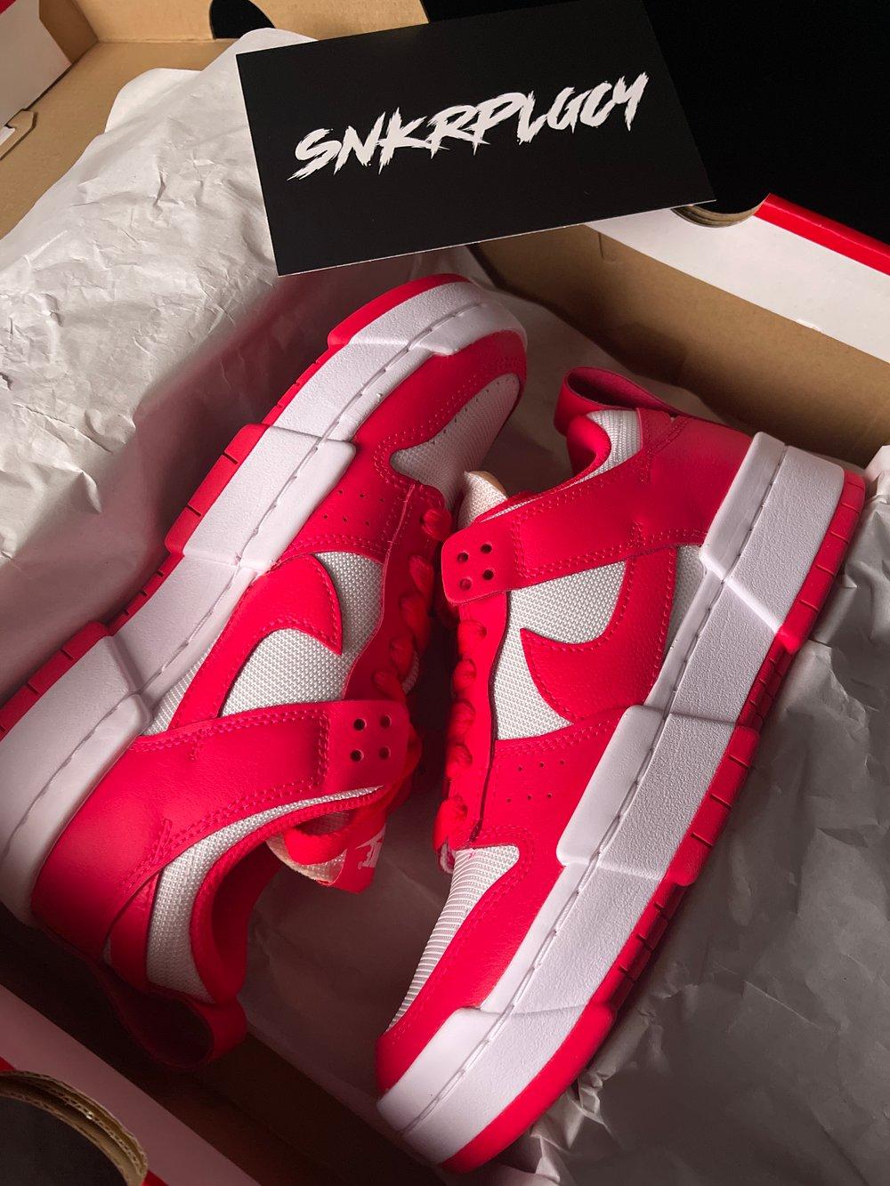 """Nike Dunk Disrupt """"Siren Red / White"""""""