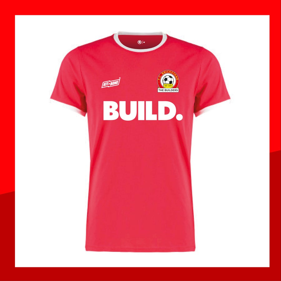 Image of FC Brickstand Retro Jersey Red