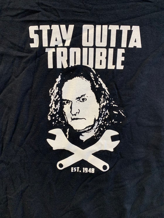 Image of Stay Outta Trouble - Jolly Roger T-shirt