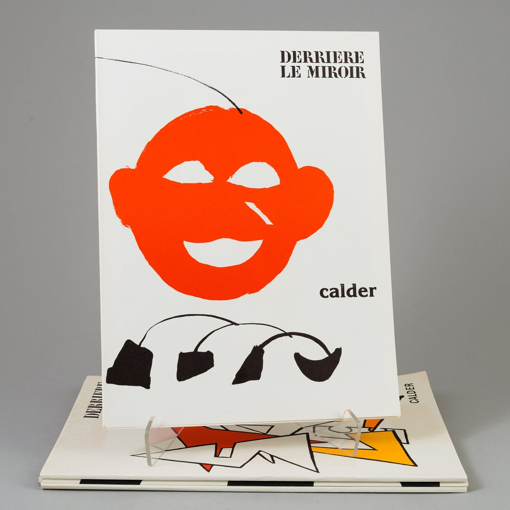 Image of alexander calder / red - yellow / 23/018 (dlm221)