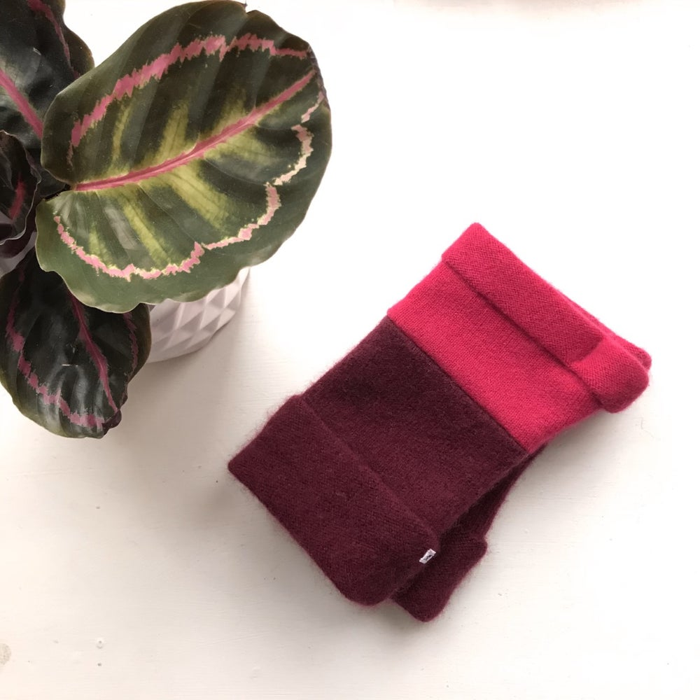 Image of Luxury Upcycled Cashmere Mitts