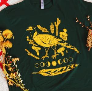 GREEN pheasant shirt (CM)