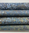 Marbled Paper Imperial Blue 1/2 sheets