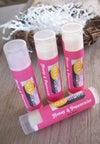 ALL Natural Lip Balm-Peppermint and Honey-Sweet Beaks Collection-Rich Lip Protectant