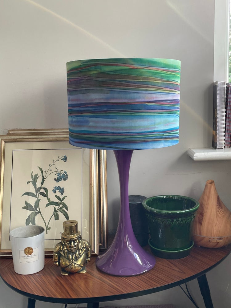 Image of Patina Handpaints Stripes Bermuda Shade 30cm
