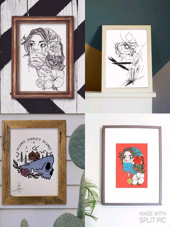 Image of Sale bundle A4 prints
