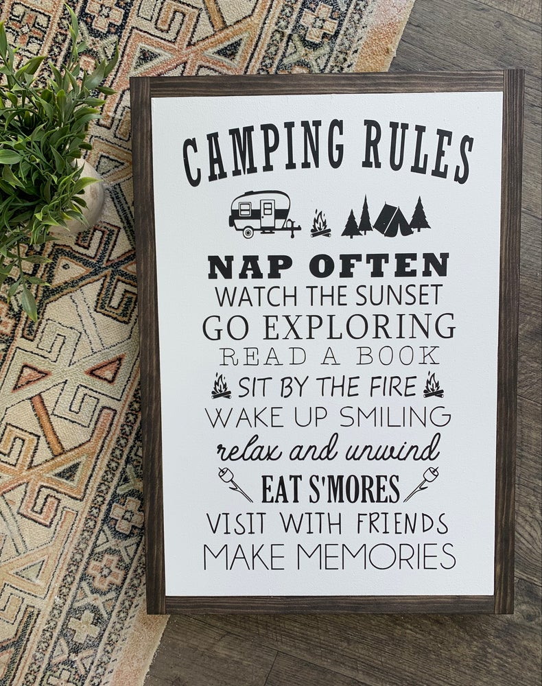 Image of Camping Rules