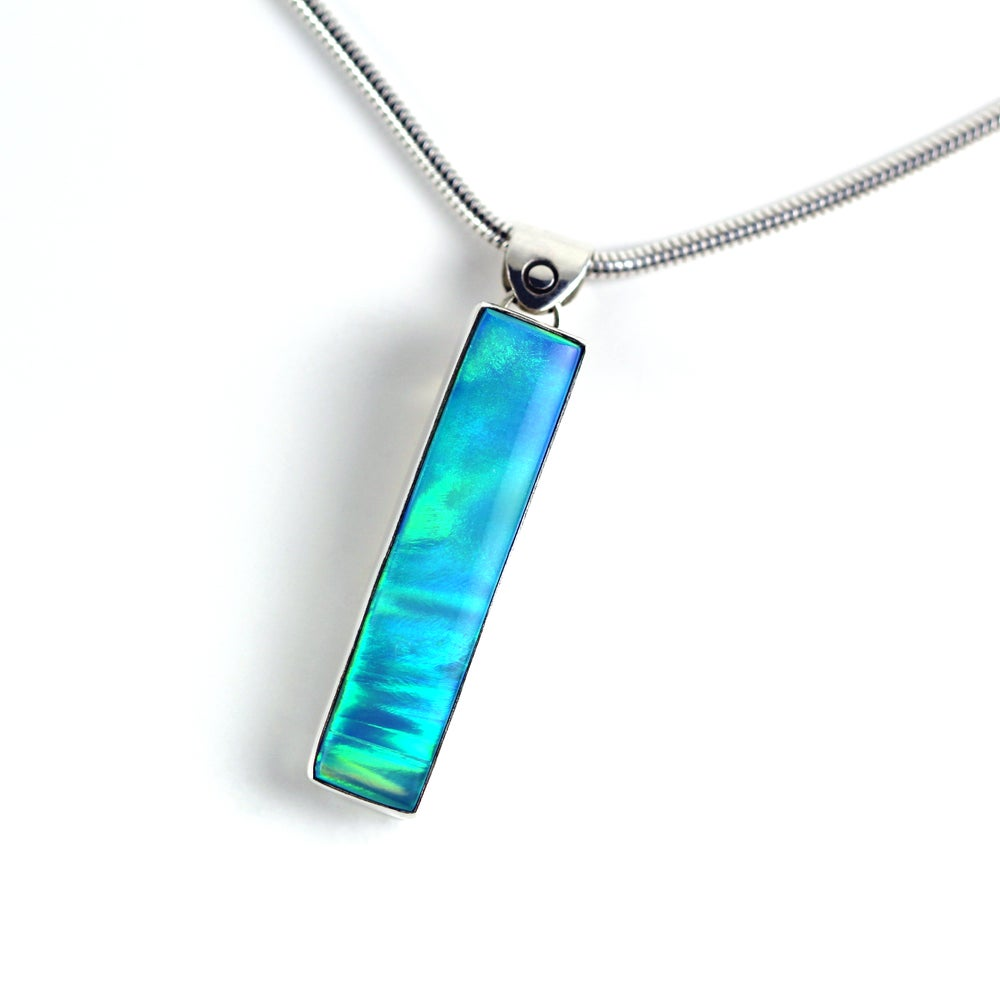 Nova Opal Sterling Silver Necklace