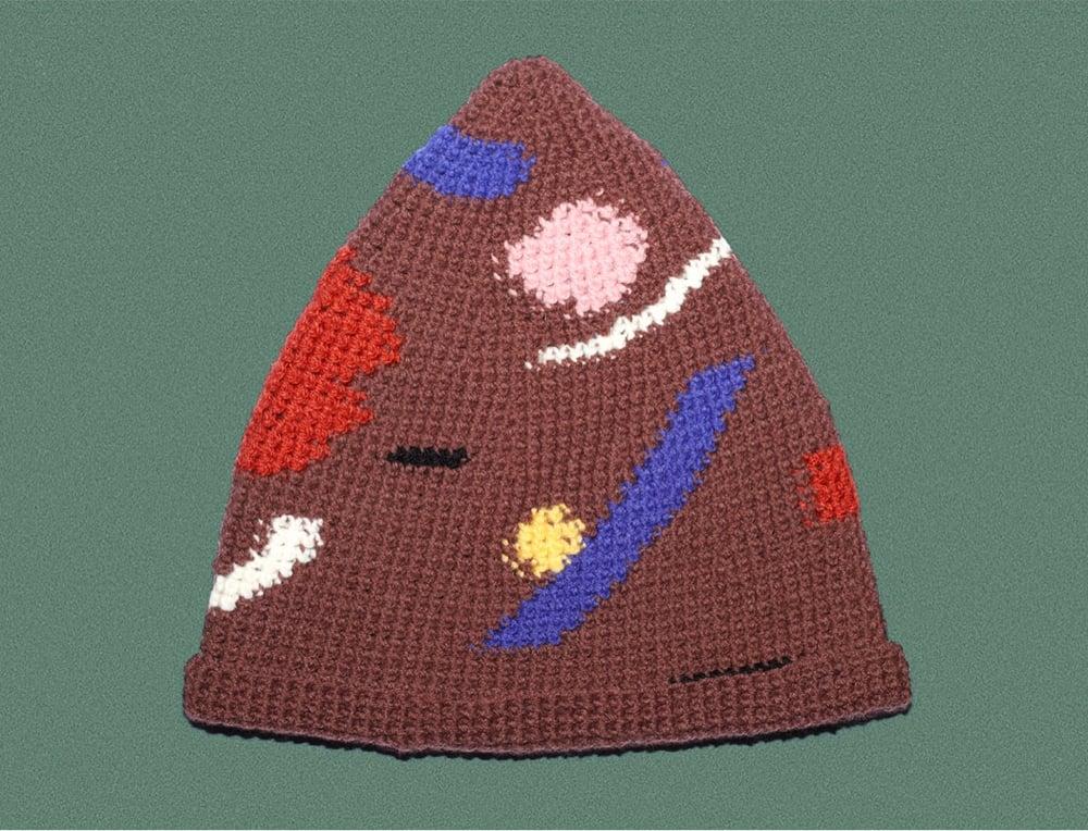 Image of BROWN LONG CAP