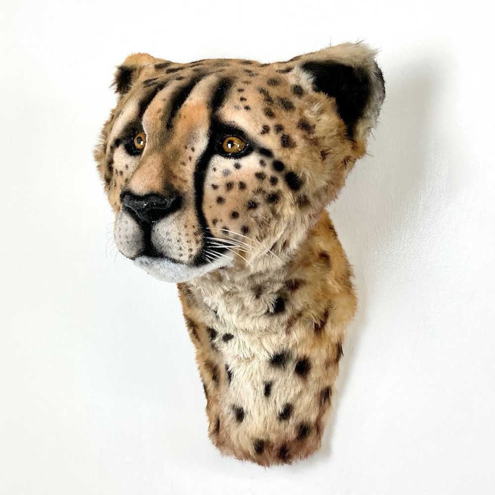 Image of CHEETAH SCULPTURE