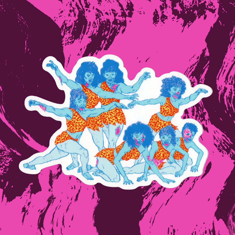 Image of ZOMBIE BURLESQUE Sticker