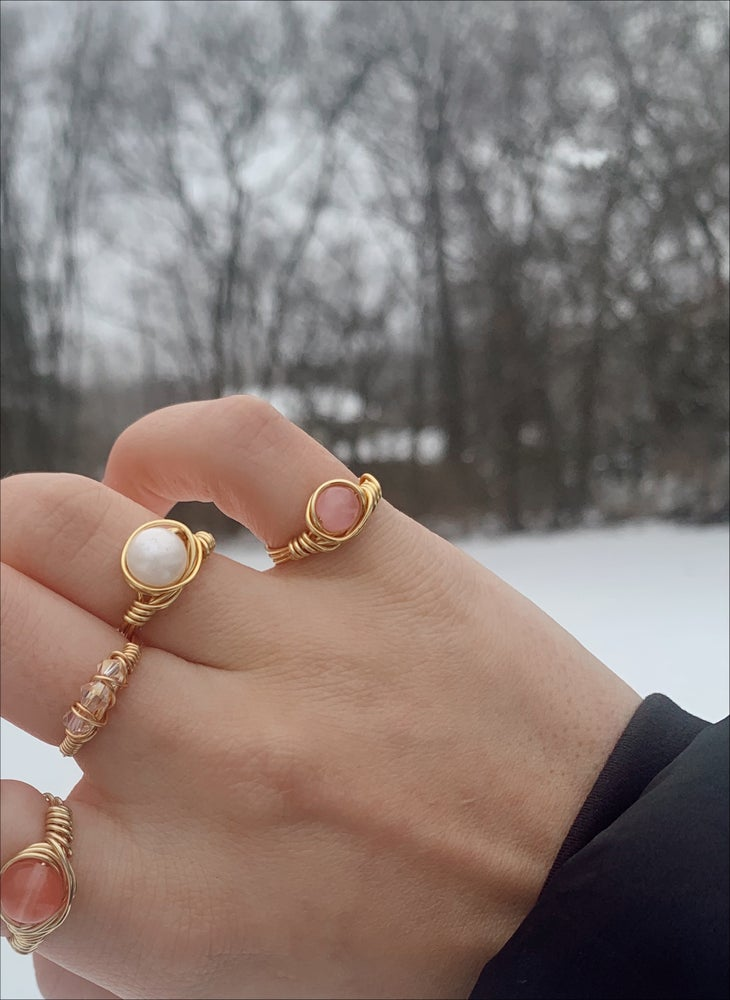 Image of Large Freshwater Pearl Ring