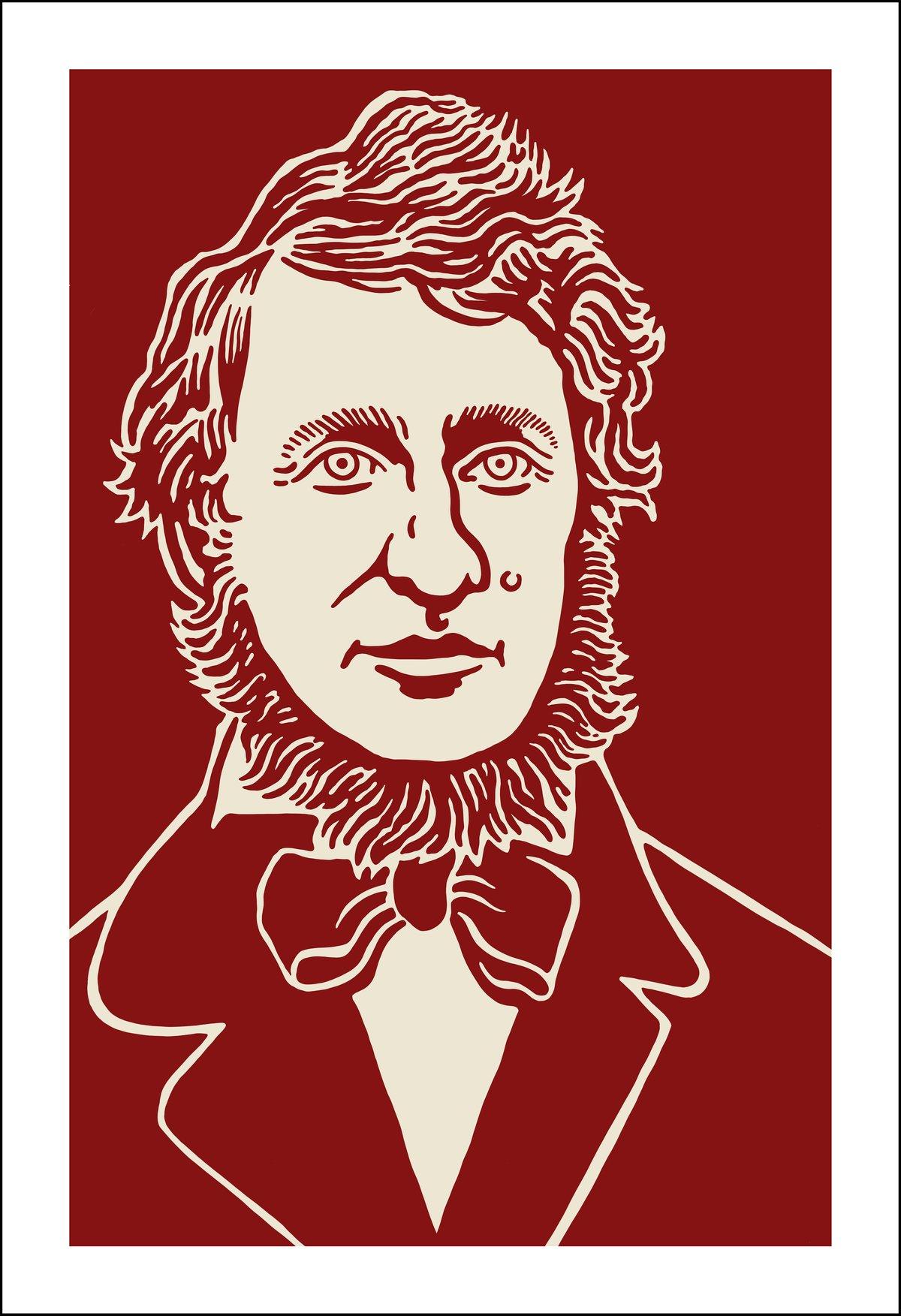 Image of Henry David Thoreau Print