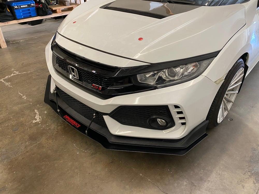 "Image of 2016-2020 Honda Civic ""Type R Conversion"" splitter"