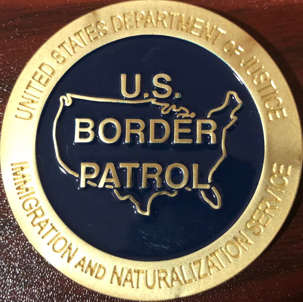 Image of INS/DOJ SERVICE VEHICLE COMMEMORATIVE COIN