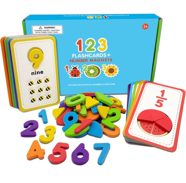 Image of Flashcards/Tracing & Number  Magnetic Kit