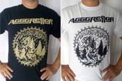 "Image of AGGGRESSOR ""Osculum Infame"" shirt"