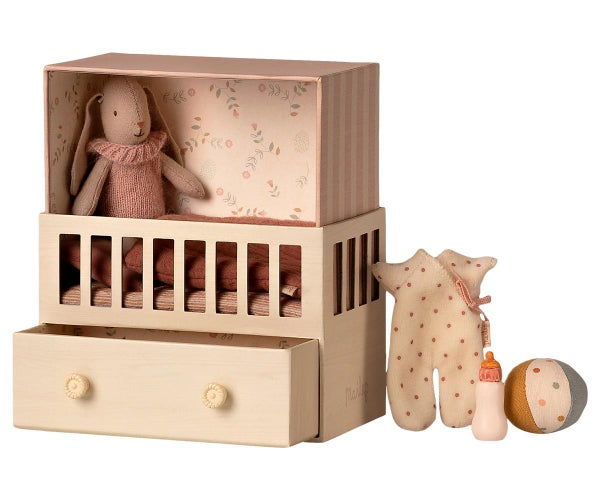 Image of Maileg - Baby Room with Micro Bunny (Pre-order)