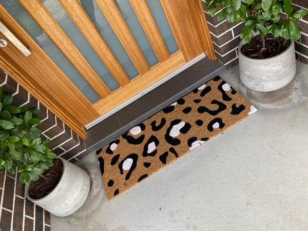 Image of XL custom doormat