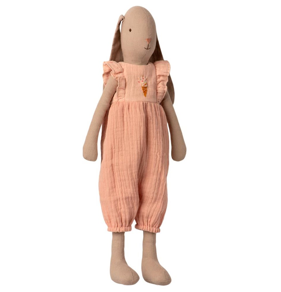 Image of Maileg - Bunny Size 3 Jumpsuit Rose