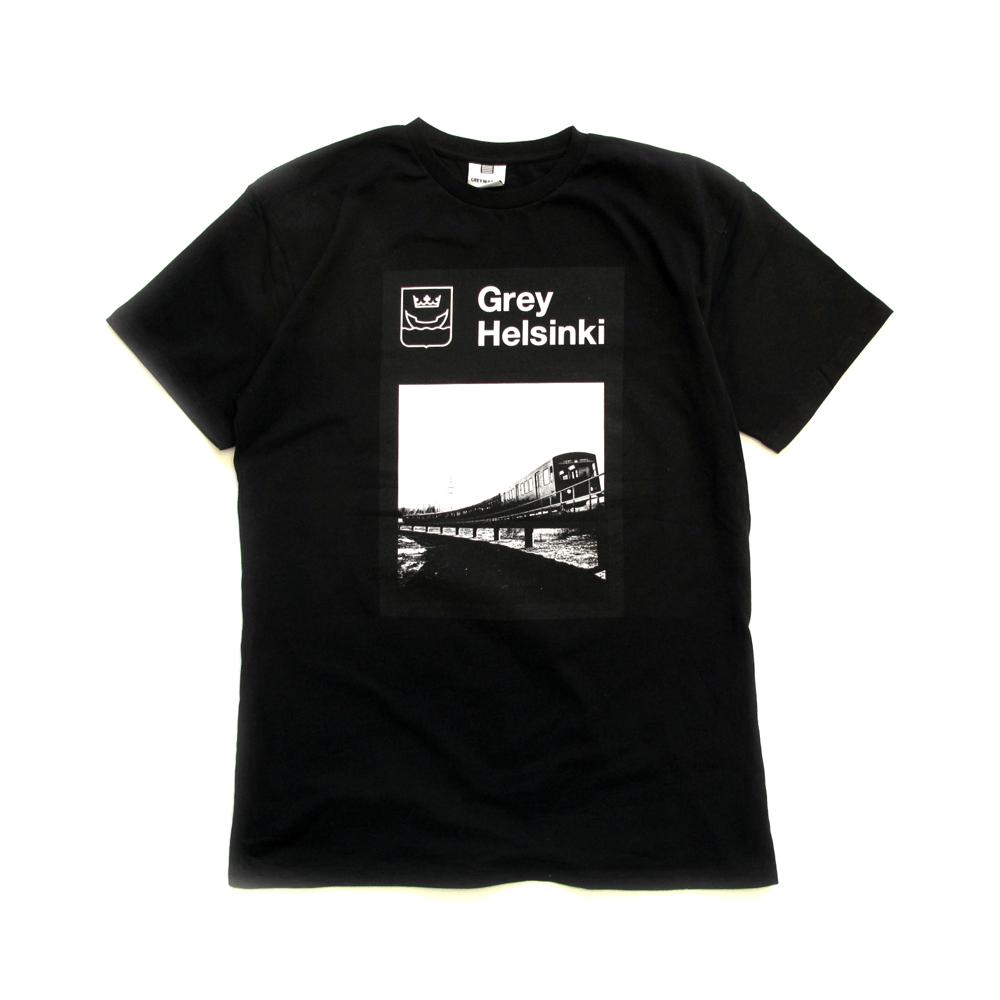 Image of Grey Helsinki T-shirt