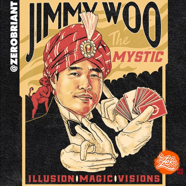 Jimmy Woo The Mystic