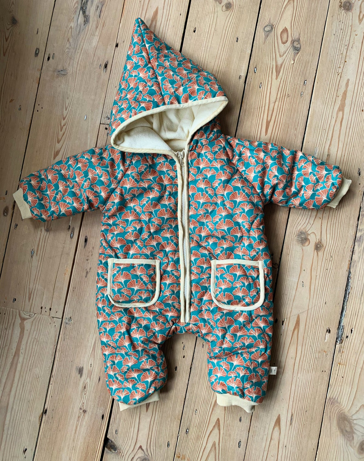 Image of THE NORA ROMPER - GINKGO