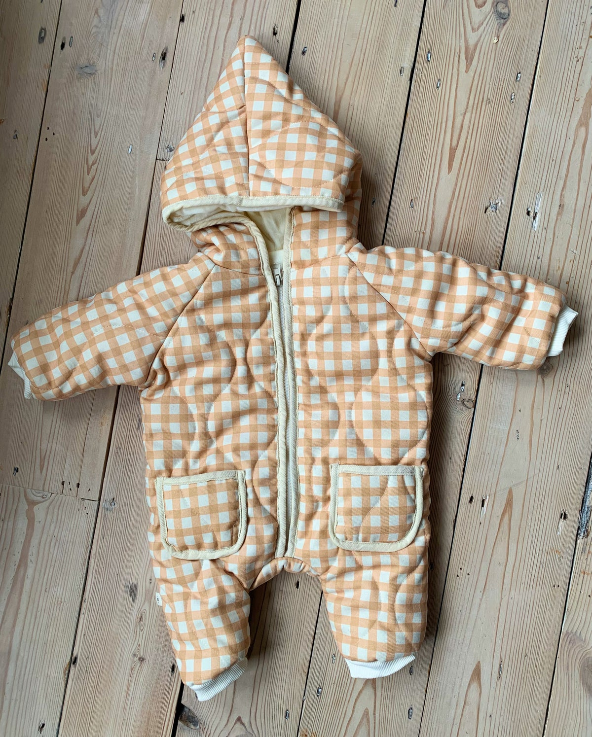 Image of THE NORA ROMPER - GINGHAM