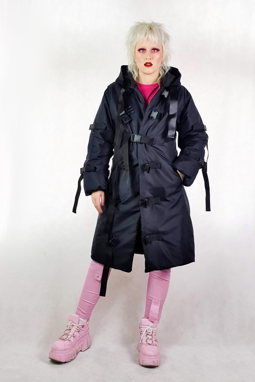 Image of Black Long Jacket