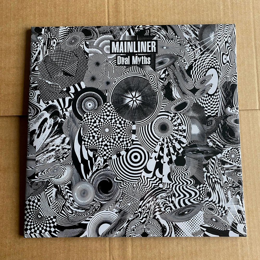 MAINLINER 'Dual Myths' Silver & Black Vinyl 2xLP