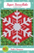 Image of Super Snowflake Paper Pattern