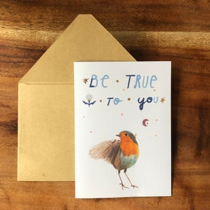 download greeting card - birdy
