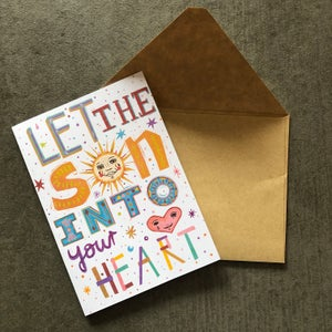 download greeting card - sun